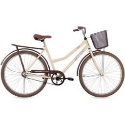Bicicleta nova aro 26 cairu málaga ou gênova fem em até 10 vezes no visa ou mastercard