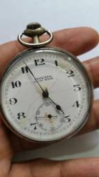 Relógio Antigo de Bolso Trovato Swiss Made - Raro
