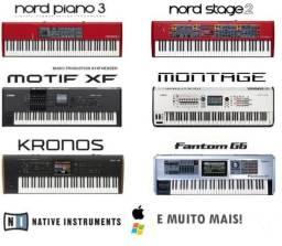 Usado, 245GB Kronos, Motif, Nord, Fantom, Ultimate Stage Pianos HD comprar usado  Ribeirão Preto