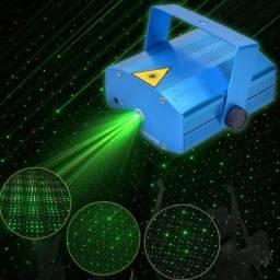 Projetor Laser Holográfico Pontos De Luz Luatek