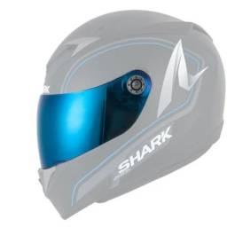 Viseira Shark S700/s900 Iridium Blue Shark
