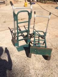 Carrinho para cargas Importado 2 ou 4 rodas (escamoteavel)