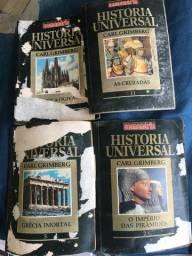 Coleção semanário história universal