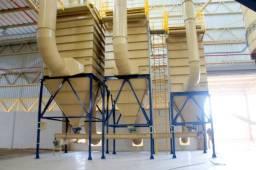Sistema de Exaustão e Filtragem Industrial