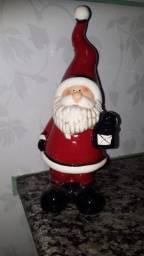 Papai Noel de enfeite de louça