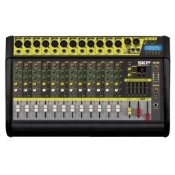 Kit c/ Mixer Amplificado Skp VZ-120 ll + 1 Par Caixa Passiva Peavey PR-15