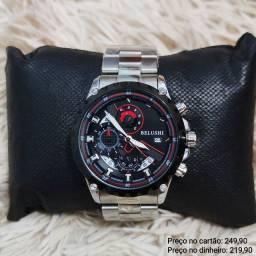 Relógio Masculino Original Belushi 100% Funcional