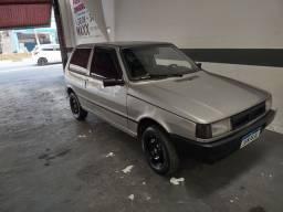 Título do anúncio: Fiat uno 2000 prata Ac. Auto maior valor