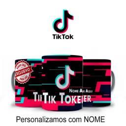 Tik Tok Caneca Tik Toker Personalizada Com Nome Para Blogueiros