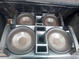Vendo caixas de som por 250 reais