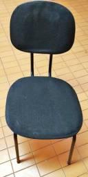 Cadeira Palito Preta - Bem Conservada