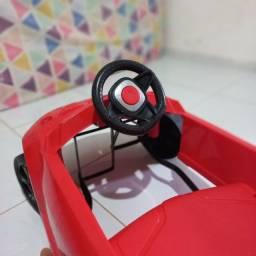Título do anúncio: Carrinho infantil com pedalo