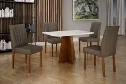 Mesa de Jantar 4 Cadeiras 1,20x0,80 ( NOVAS)