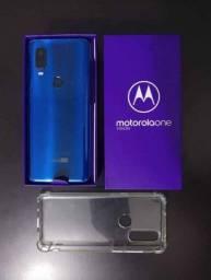 Título do anúncio: Motorola One Vision 128gb