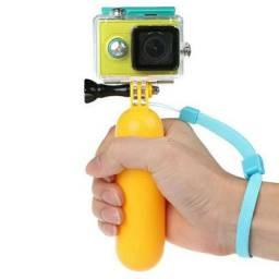 Suporte Flutuador Câmeras de Ação (go pro, eken h9r, sjcam)