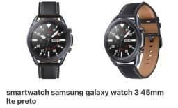 Smartwatch Samsung Galaxy Watch3 45mm LTE Relógio