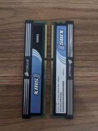 Memória RAM 4gb (2x2)