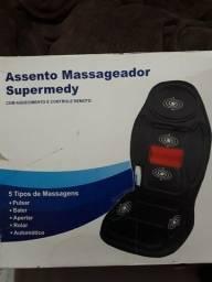 Assento massageador com aquecimento Supermedy