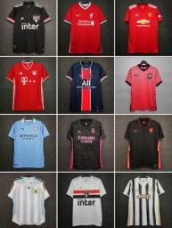 Camisas de Futebol Tailandesa Pronta Entrega