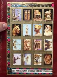 Selos filatelia egípcio.