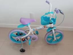 Bicicleta aro 14' - Bandeirantes Frozen