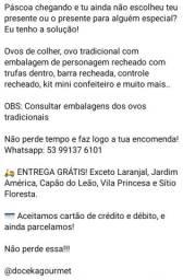 OVOS DE PÁSCOA!! ??