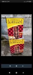 Carrinho de churrasco grego