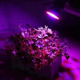 Lâmpada Led Cultivo Indoor Grow Full Spectrum - 80LEDS - 28W - Painel Led