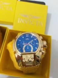 Relógios invicta na caixa