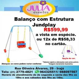 Balanço com Estrutura Jundplay