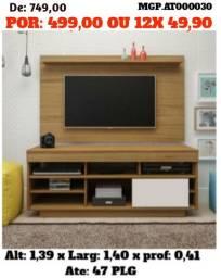 Conjunto Rack e Painel de televisão até 47 Plg - Direto da Fabica - Embalado