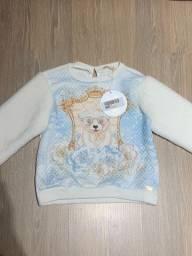 Blusa infantil Petit Cherie Nova