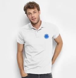 Camisa do Cruzeiro 100% bordada _ exclusiva