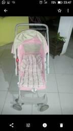 Carrinho + bebê conforto!! fotos reais do produto