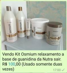 Kit relaxamento Osmium Nutra Hair