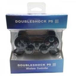 Controle Joystick s/ Fio Paralelo p/ Playstation PS 3 (Loja Física)