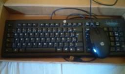 Vendo teclado e mause