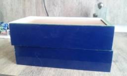 Dominó De Pvc Branco/azul