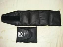 Tornozeleiras Musculação KO Knockout Profissional 4Kg (01 par)