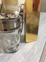 2 frascos da linha paco rabane