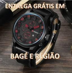 Relógio Curren Original Couro