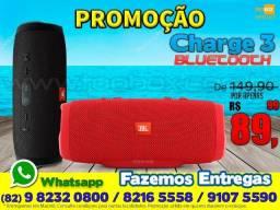 Caixa de som Charge 3 Bluetooth - Fazemos Entregas