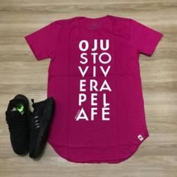 Camisetas Long Line Gospel