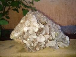 Drusas de criatal de quartzo