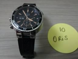 Relógio ORIS - modelo Carlos Coste Asia 7750 - Chronograph Limited -  2ªlinha - Pouco uso 2420fa465a