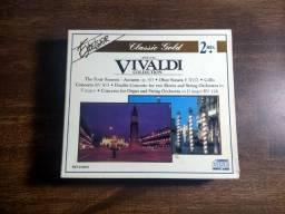 CD's Música Clássica Vivaldi Collection - Raridade. Usado