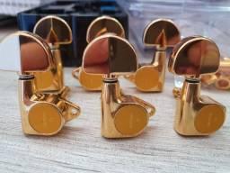Tarrachas Gotoh Les Paul/Violão - Douradas - TOP!!