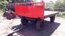 Carreta agrícola 04 rodas