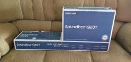Soundbar Samsung HW-Q60T, com 5.1 canais, potência de 360W
