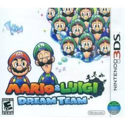 Mario e luigi Dream team 3ds